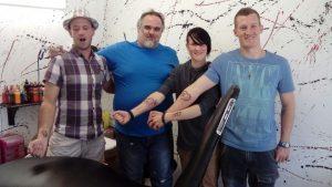 Sponsored Tattoo Session